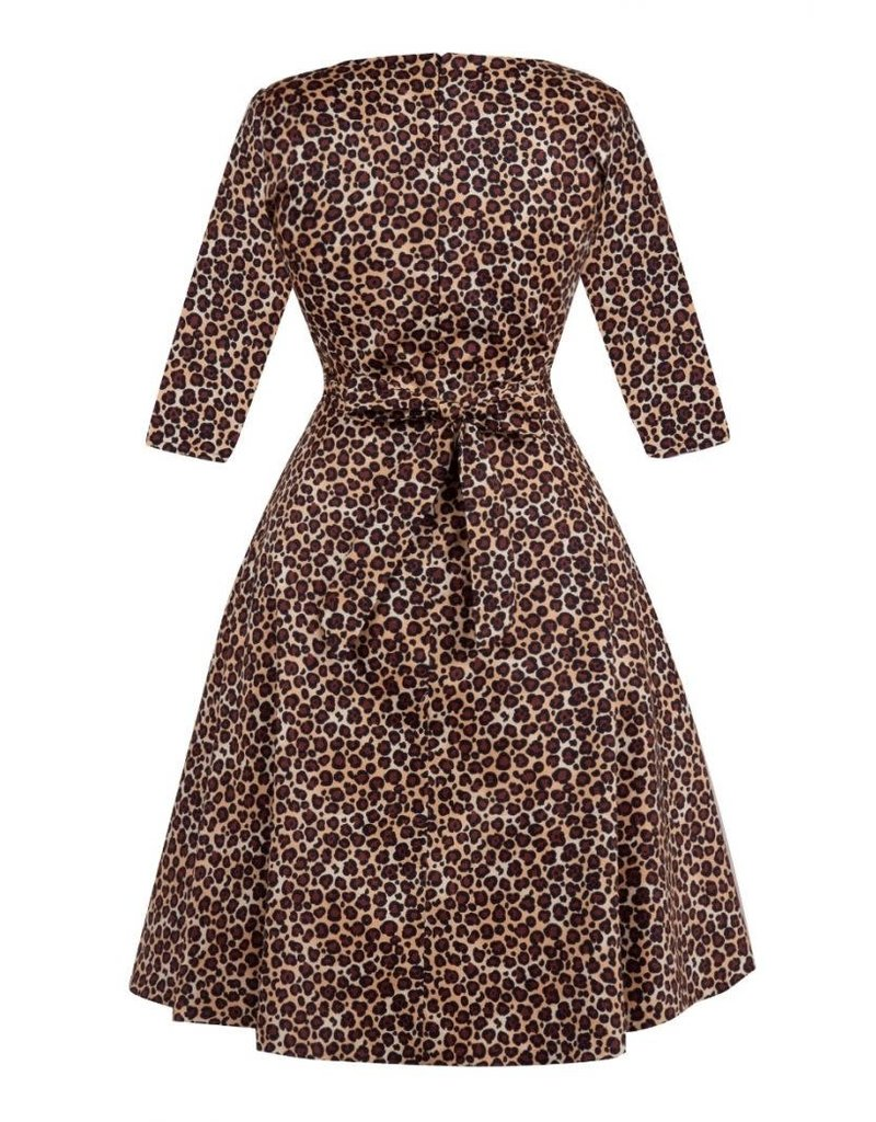 Lady V Maria Dress - Leopard