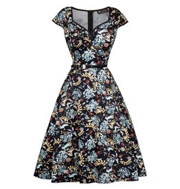 Lady V Isabella Dress - Tea Floral