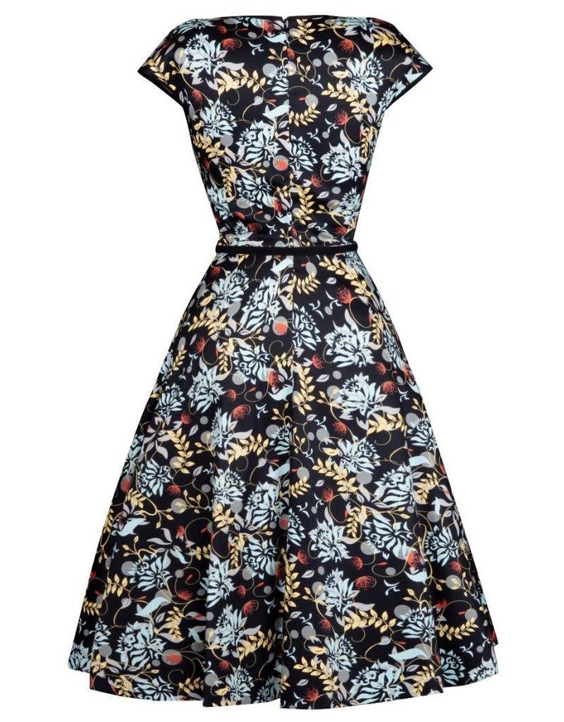 Lady V Isabella Dress - Tea Floral