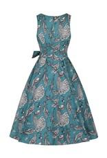 Lady V Dorothy Dress - Peacock
