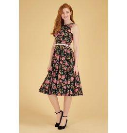Lady V Hepburn Dress - Rococo Floral