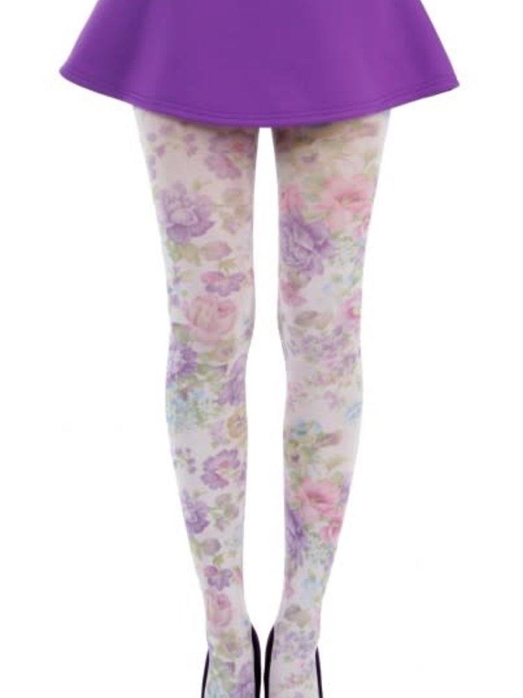 Pamela Mann Spring Flower printed tights