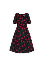 Collectif Amber Rose Stem Swing Dress