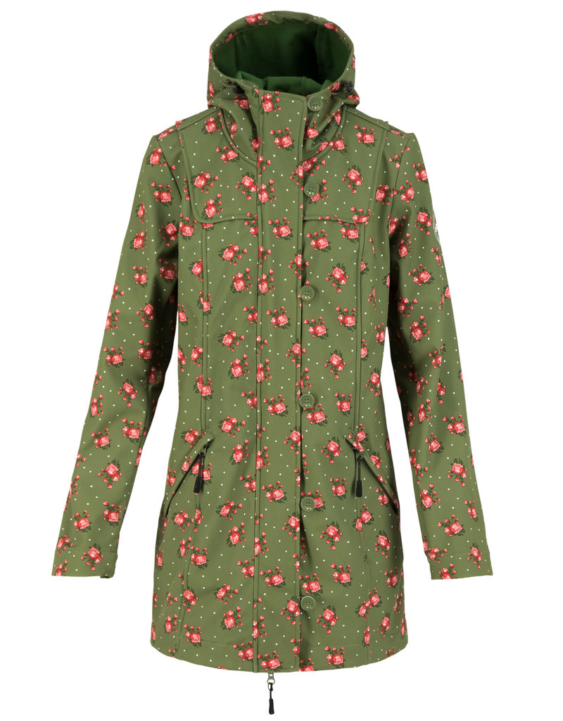 Blutsgeschwister wild weather long anorak