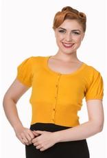 Banned Shortsleeve Cardigan - Mustard