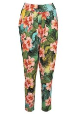 LaLaMour Pants Tropical - Green / Turquoise