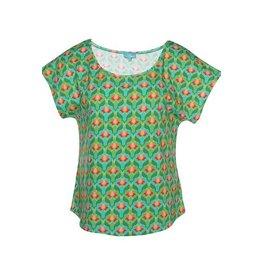 LaLaMour Loose Shirt Lotus