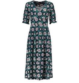 Tante Betsy Boho Dress Forest Flower Navy