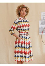 Palava Cynthia - Tencel Harlequin Dress