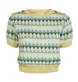 Palava Eve Harlequin Knitted Top