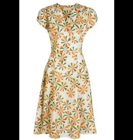 Palava Rita - Tencel Ivory Spirals Dress
