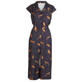 Palava Francesca - Tencel Navy Tiger Jumpsuit