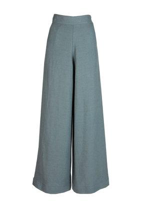 Palava Josephine - Chalk Blue linnen broek
