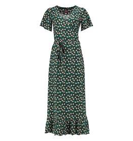 Tante Betsy Hippie Dress Long Edelweiss - Black