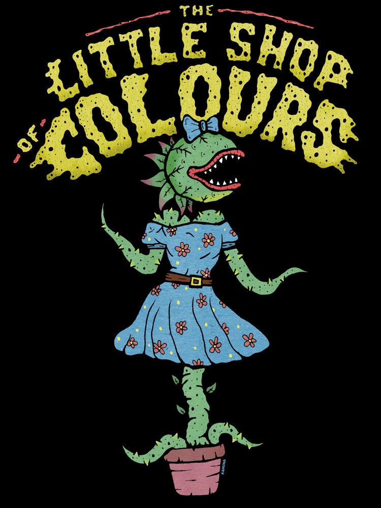 The Little Shop of Colours The Little Shop of Colours t-shirt