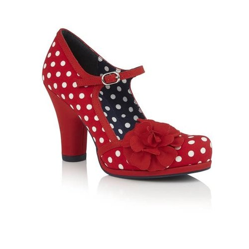 Ruby Shoo Hannah - Red Spots