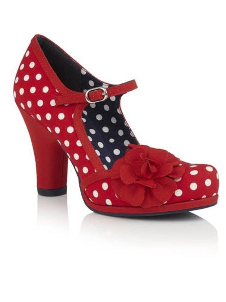 Ruby Shoo Hannah - Red Spots