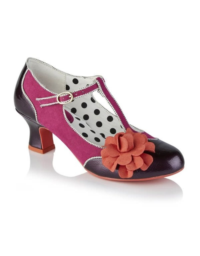 Ruby Shoo Marcie - Ladies Purple
