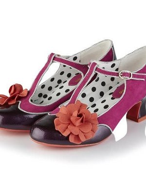 Ruby Shoo Marcie - Ladies Purple