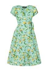 Lady V Bella Dress - Lemon