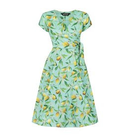 Lady V Bella Dress - Lemon