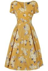 Lady V Ursula Dress - Tuscan Sun
