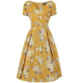 Lady V Ursula Dress - Tuscan Sun