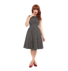 Collectif Hepburn Polka Dot Dress