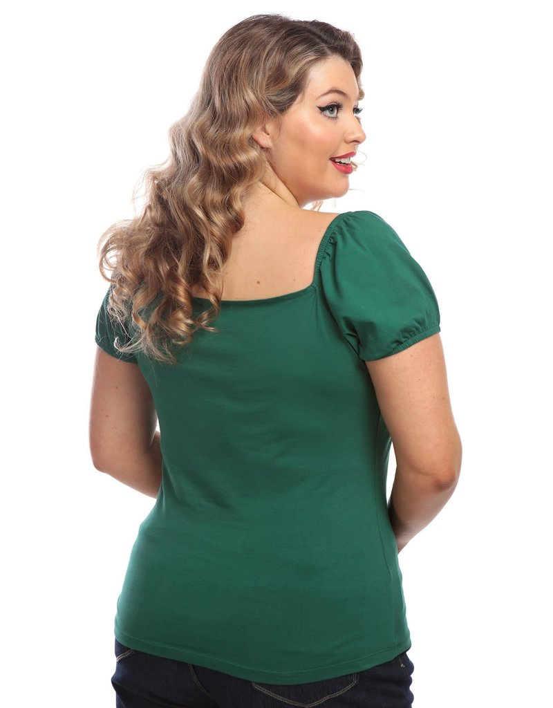Collectif Dolores T-shirt - groen