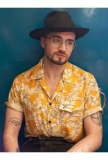 Collectif Cesar 40s shirt met korte mouwen Hawaii