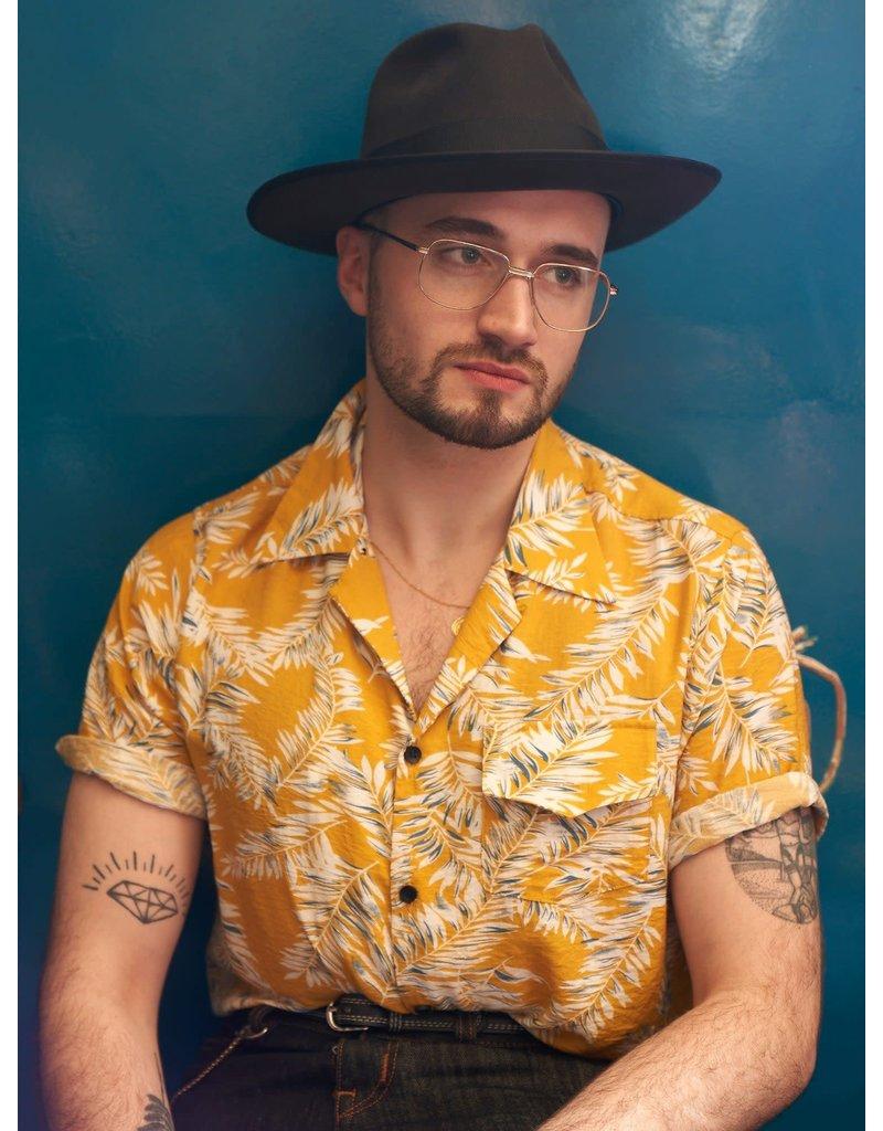 Collectif Cesar 40s Short Sleeve Shirt Hawaii