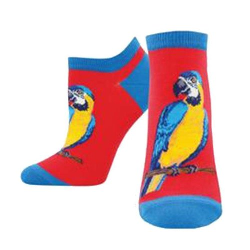 SockSmith A-parrot-ly short socks