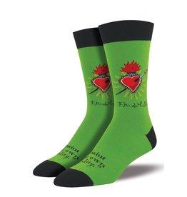 SockSmith Frida Heart mens socks