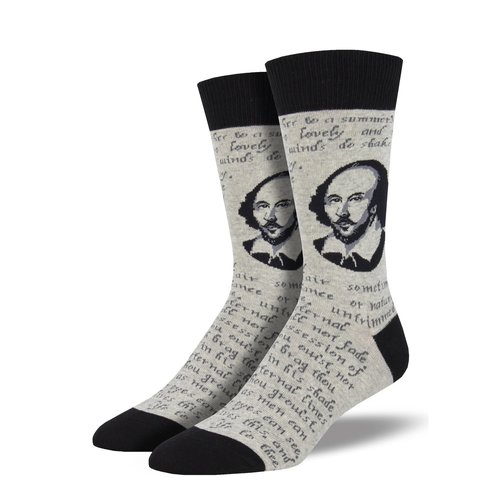 SockSmith Shakespeare mens socks