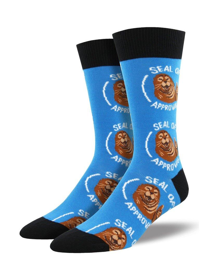 SockSmith Seal of Approval mens socks