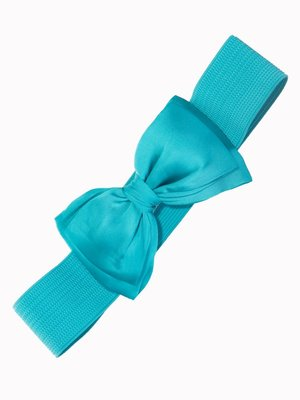 Banned Bow Belt - Teal