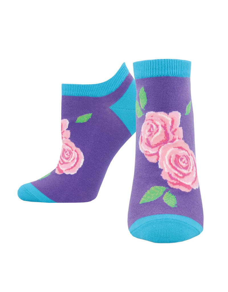 SockSmith Floral short socks