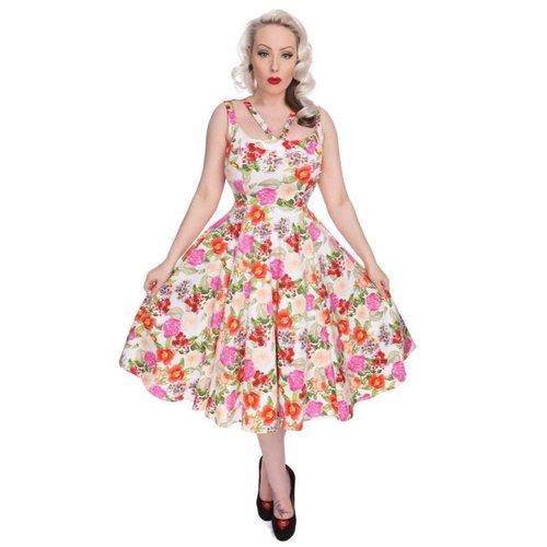 Hearts & Roses 50s Adelise Roses Swing Dress