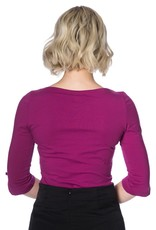 Banned Oonagh top - Purple