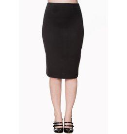 Banned Paula basic pencil skirt - black