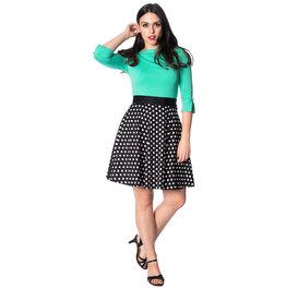Banned Polka Dot skirt basic