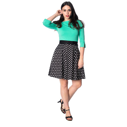 Banned Polka Dot skirt basic
