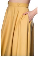 Banned DI DI swing skirt - Mustard