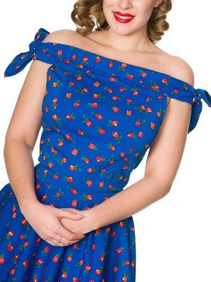 Sheen Jessica Dress - blue