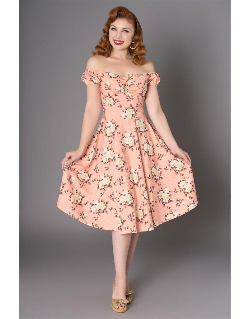 Sheen Amber 50s Swing Dress