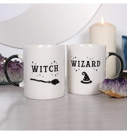 Something Different Witch and Wizard Mug set