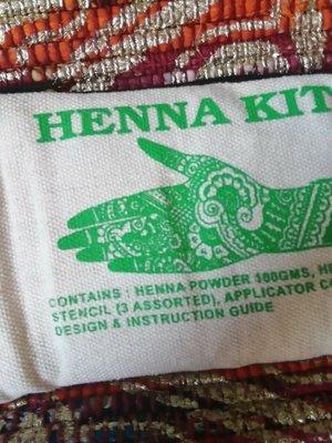 Something Different Henna Kit