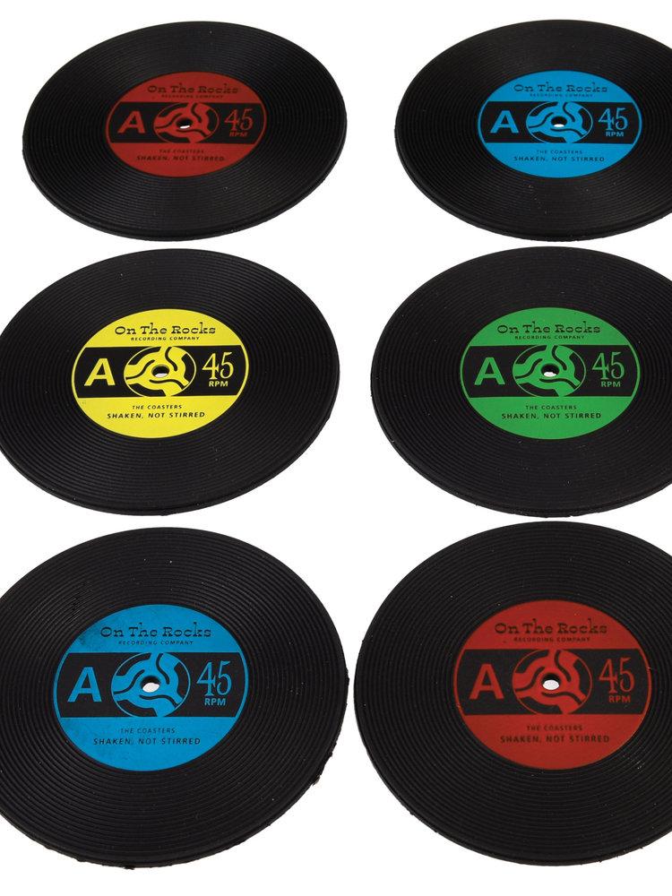 Rex London silicone Record Coasters