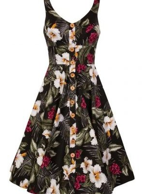 Hell Bunny Tahiti 50'S Dress