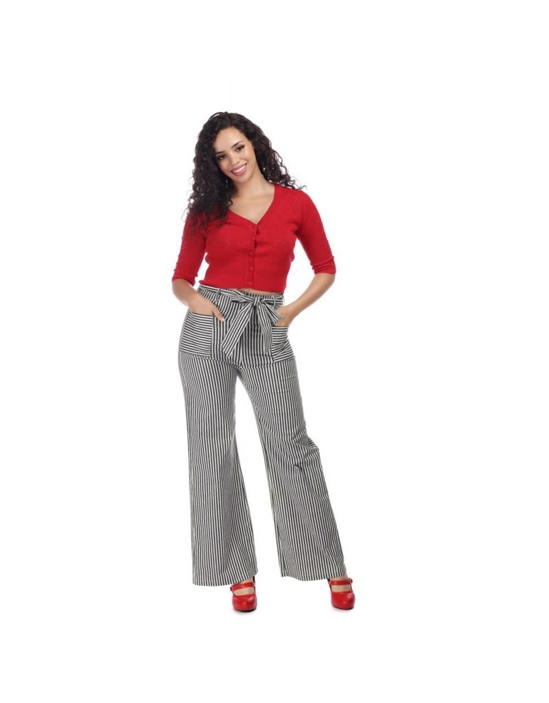 Collectif Bella Striped Trousers
